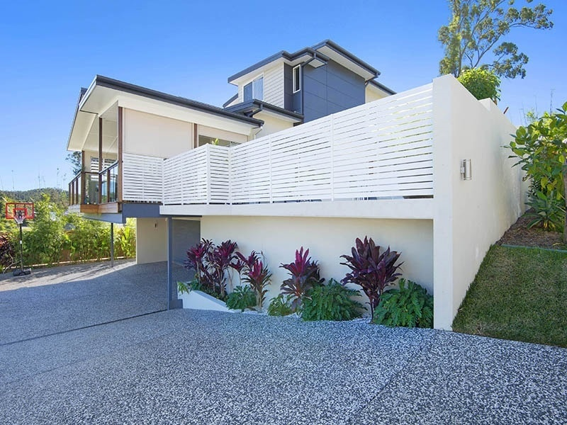 Home exterior with driveway in Brisbane