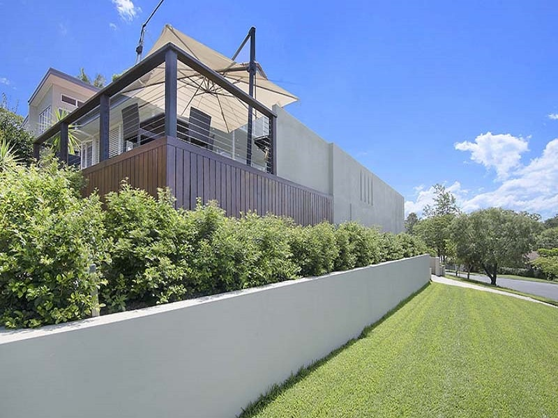 Concrete pool area and surrounds in Brisbane