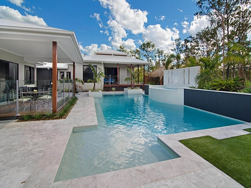 Custom design pool in Brisbane