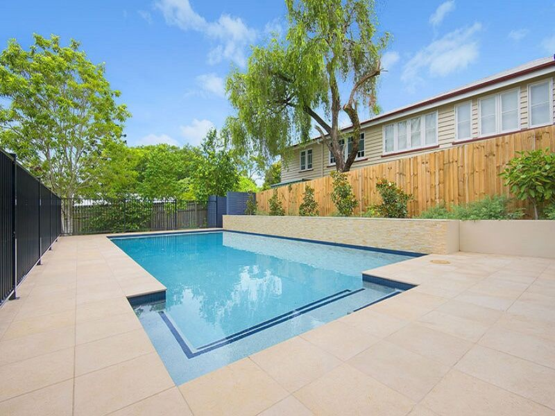 In ground family pool in Wilston, Brisbane