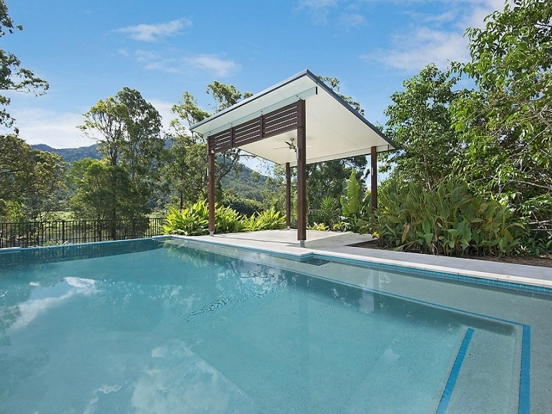 In ground pool with patio in Highvale, Brisbane