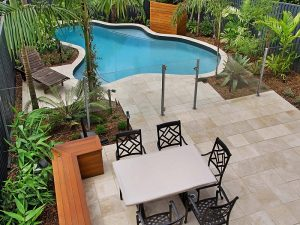 Landscape and pool design by Cityscapes