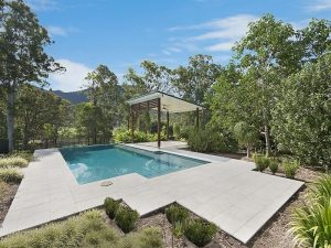 Landscaping and pool surrounds in Brisbane