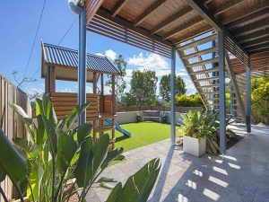 Landscaping and family outdoor area in Brisbane
