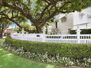Landscaping for Queenslander style home