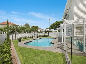 Landscaping and pool renovation in Brisbane