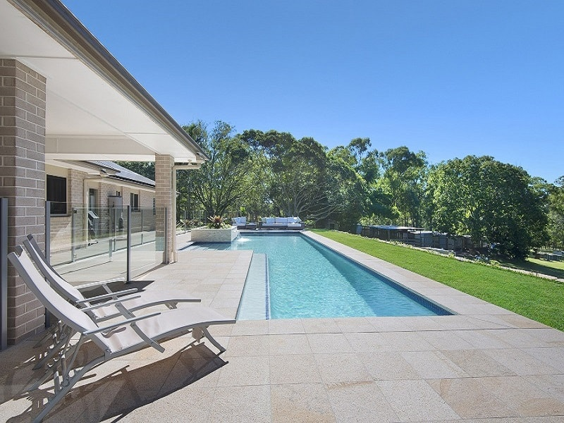 Lap Pool for home in Brisbane