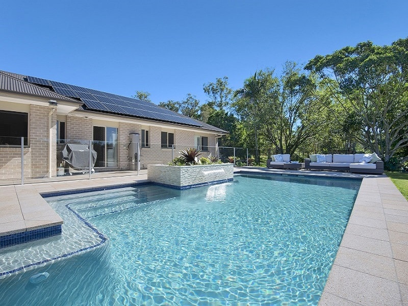 Lap pool build by Cityscapes Pools and Landscapes