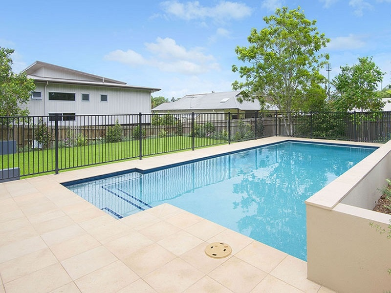 New concrete pool in Wilston, Brisbane