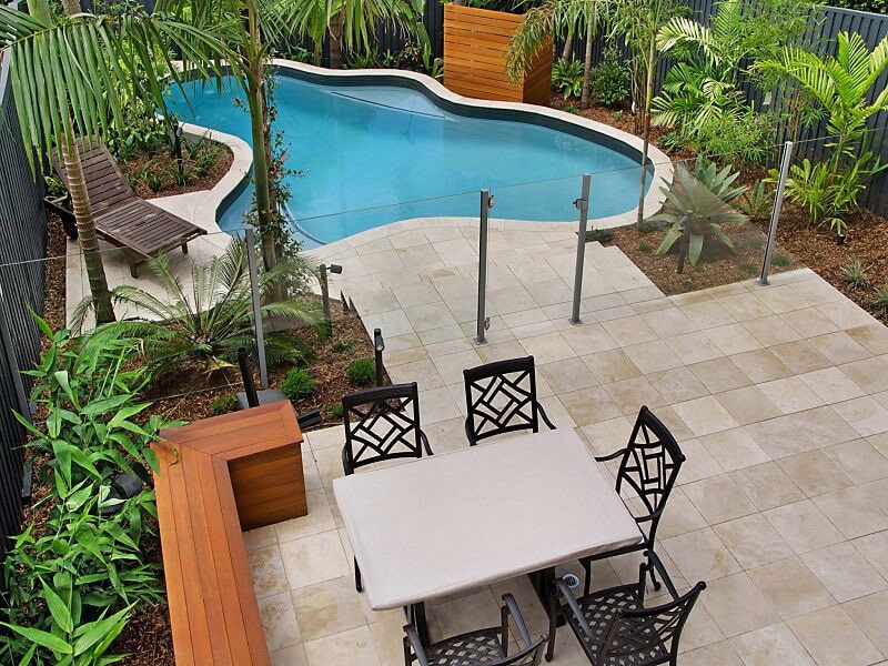 Pool and landscape package by Cityscapes