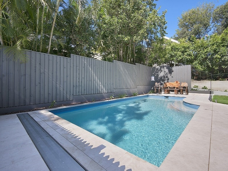 Pool installation in Red Hill North, Brisbane
