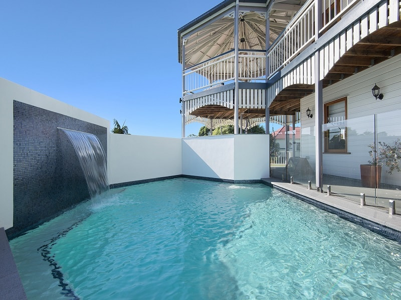 Swimming pool design in Corinda, Brisbane