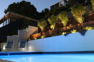 Custom designed pool landscaping by Cityscapes