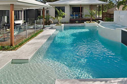 entertainer style pool