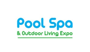 Pool spa and outdoor living expo logo