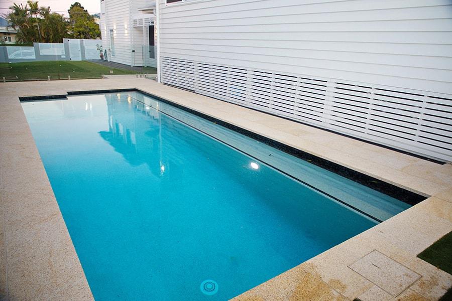 Concrete inground pool East Brisbane