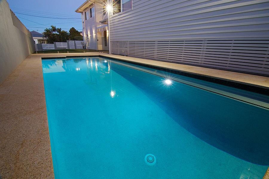 Concrete pool project East Brisbane