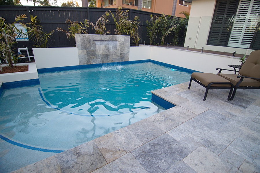 Concrete pool tiles in Forest Lake, Brisbane