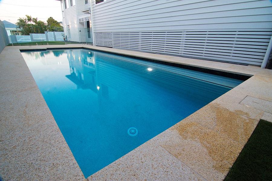 Concrete pool tiling East Brisbane