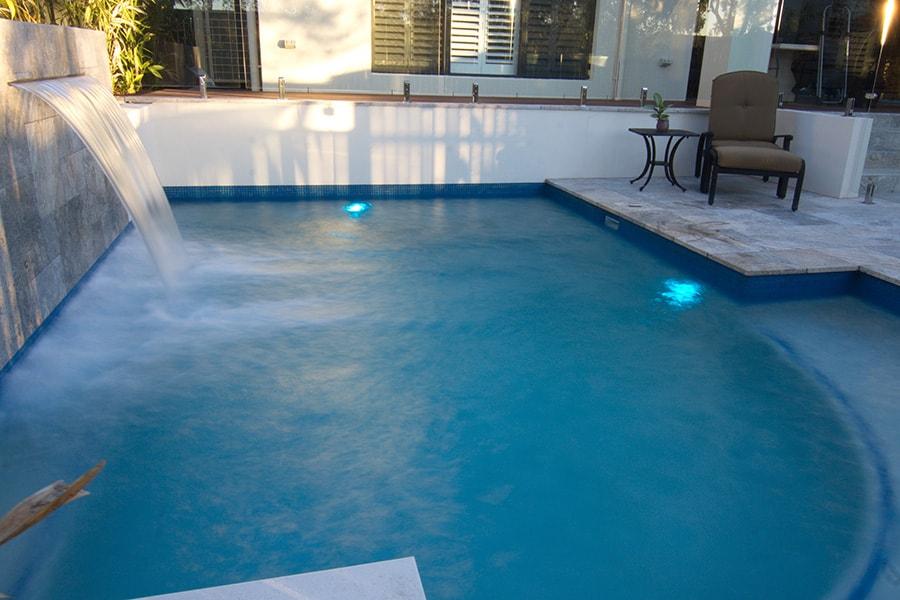 Concrete swimming pool in Brisbane's South