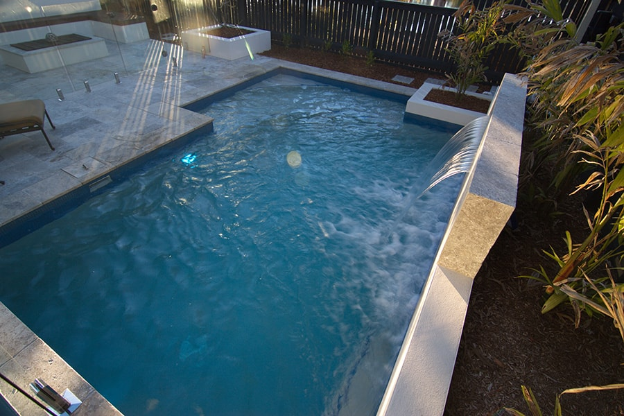 Concrete Pool Project Forest Lake Cityscapes Pools