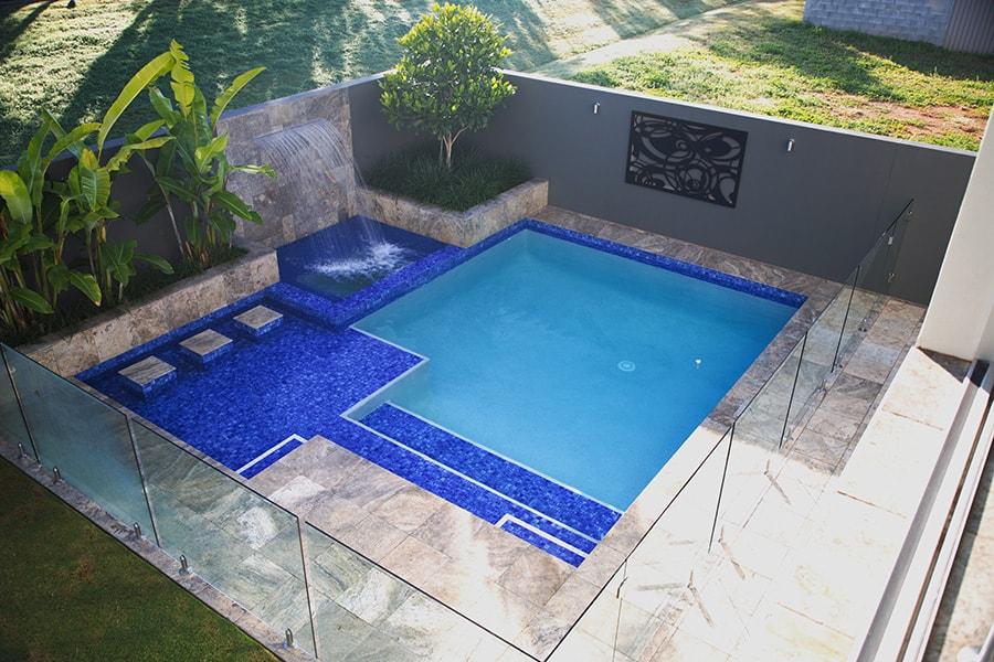 New pool build custom in Eight Mile Plains, Brisbane
