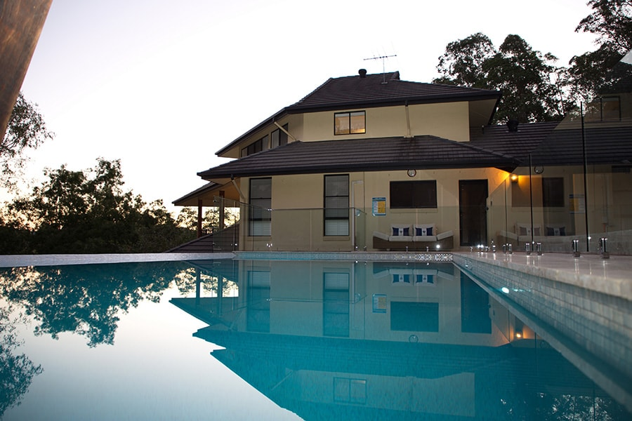 Out of ground pool for family home The Gap, Brisbane