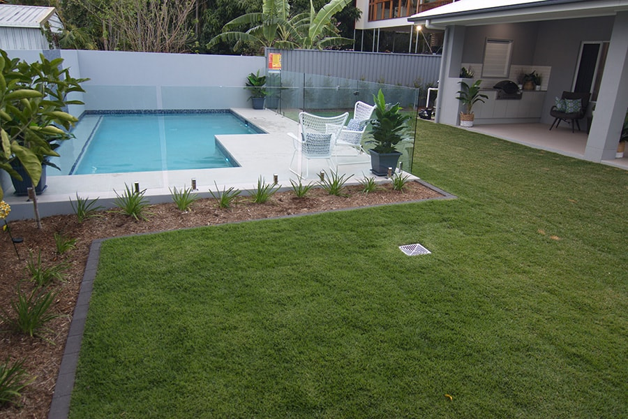 Plunge pool concrete project in Kedron, Brisbane