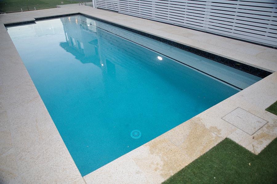 Swimming pool build East Brisbane