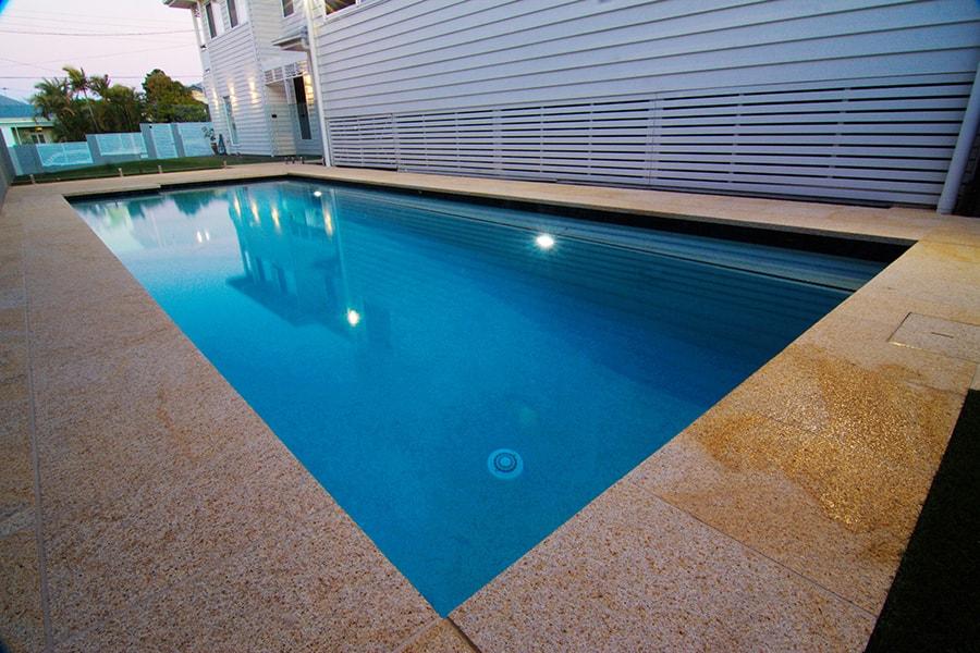 Swimming pool installation East Brisbane