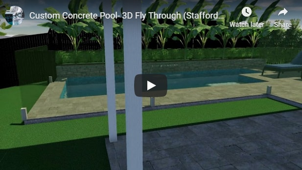 Custom Pool Design Concept Video