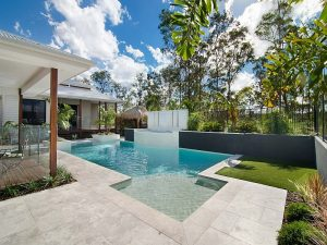 Custom design pool landscape Bunya Cityscapes