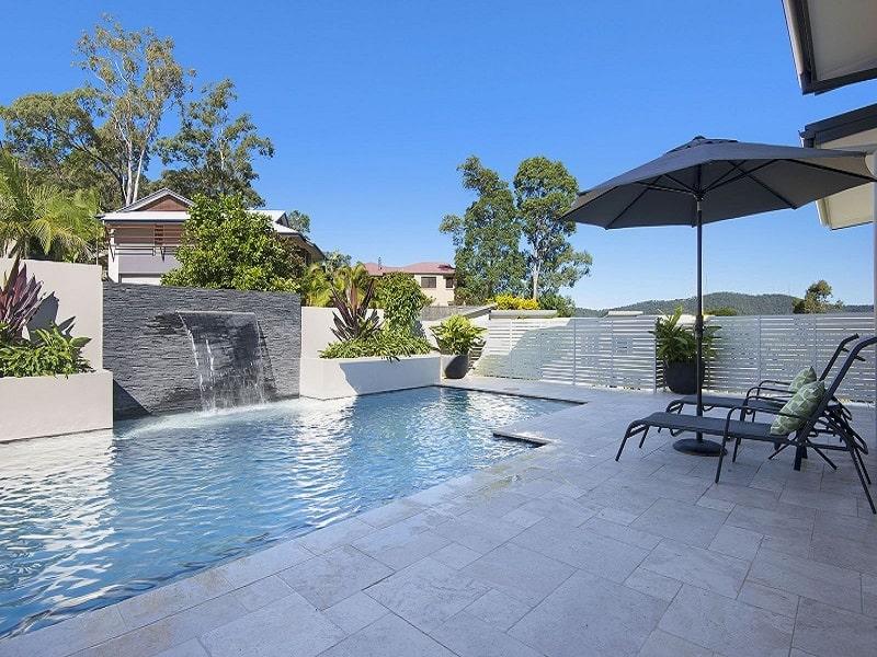 Pool Builders portfolio design