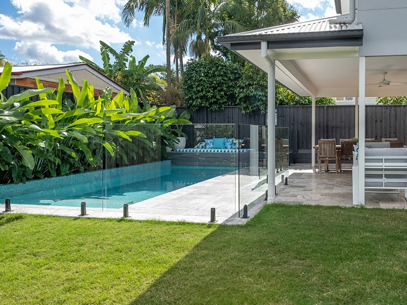 swimming pool in stafford made by Cityscapes Brisbane Pool Builders
