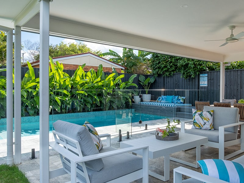 swimming pool stafford by Brisbane Pool Builders Cityscapes